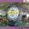 Advertising portable inflatable tire/wheel model for sale