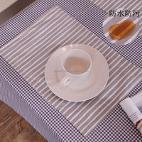 STOCKS heat resistant table placemats/food serving placemats/kitchen table placemat