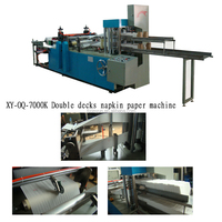 1-3 color printing and counting tissue napkin machine cheap price