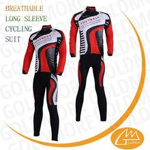 TEAM race and club long sleeve cycling jersey 2015