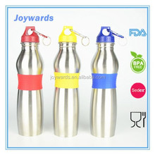 hot selling stainless steel sports water bottle bicycle water bottle