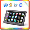 "New design 7"" touch screen gps with 4GB memory preinstall track map"