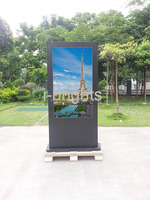 hot 55inch touch screen digital kiosk touch screen monitor kiosk