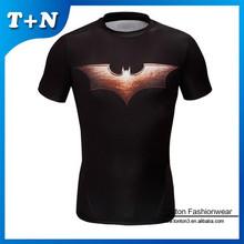 China high quality fashionable super hero crossfit t shirt