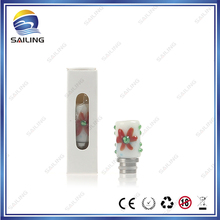 stainless steel and artglass drip tips sailing newly designed drip tips