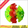 Plastic novelty suction ball toy