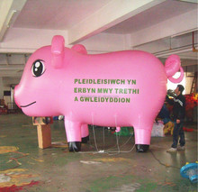 Lovely Cute Pink Pig Balloon, Advertising Air Balloon