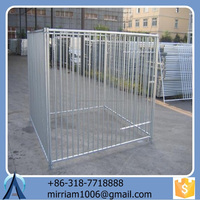2015 Hot dipped Galvanized dog kennel/ pet cages for sale with low price (factory&exporter)