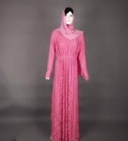 WS512 latest abaya designs 2015 islamic lace dress muslim women wedding evening dress