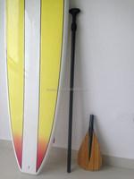 Paddle Oval Shaft Carbon fiber Sup Paddle Wood Blade Sup Paddle