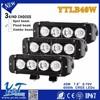 """HOT SALE llight 7.8"""" 40w strobe LED bar light for dirtbike"""