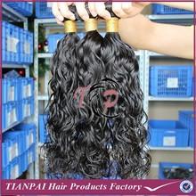 Loop and lock hair extensions, kanekalon deep wavy hair weave, heat resistant synthetic fiber hair weave