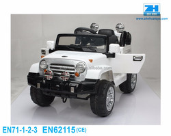 Remote Control Ride On Car Childrens Plastic Ride On Car With Open Door