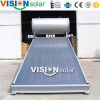 Good working condition Panel solar water heater China with Galvanized steel frame