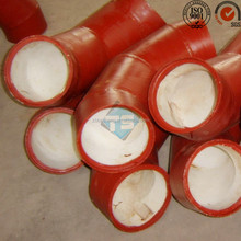 Bespoken Ceramic Lined Composite Pipe for Steel Industry,China Manufacturer