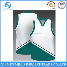 Custom sublimation basketball uniforms basketball jersey basketball wear with mesh fabric
