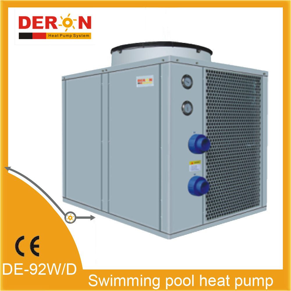 Air source swimming pool heat pump water heater buy high for Swimming pool heaters