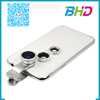 Mobile phone accessories 180 degree 3 in 1 colorful wide angle macro fish eye lens