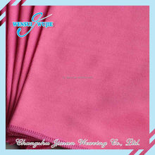 Super water absorbent cleaning cloth pink microfiber towels wholesale