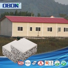 OBON fire resistant low cost prefabricated modular bungalows house plan
