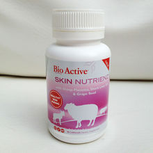 NZ New Zealand Bio Active SKIn nutrienz Sheep Placenta Liver Oil Grape Seed Extract