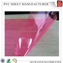 soft pvc Uv resistant plastic film in rolls