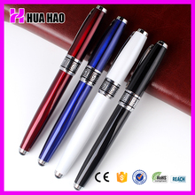 Top luxury office wrinting metal roller pen branded promotional roller ball pens buck buy from china