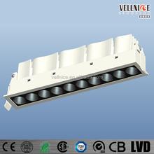 Laser Blade LED downlight 21W/anti-glare recessed led down light