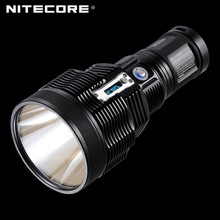 NITECORE TM36 Lite Tactical Flashlight 1800 Lumnes 1100m Long Range Marine LED Search Light with LCD Display