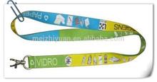 Cordones de poliéster personalizado de calor- la transferencia para el juego con el logotipo impreso