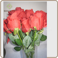 Hot Sell 2014 Artificial Potted Rose Flowers