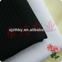 high quality black and white herringbone fabric for pocket fabric