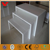 Wooden apparel promotion display table/retail shop fittings design for garments