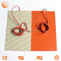 sticky pads silicone drum heating pad,Professional custom make all kinds of silicone rubber heater