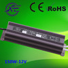 Shenzhen factory price 12V or 24V 150W IP67 led driver, switching power supply, waterproof led strip power supply