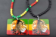 Hip hop jewelry superstar pendant necklaces wholesale acrylic beads necklace