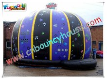 2012 pumpkin-shape inflatable jumping houses for sale