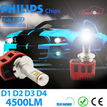 Qeedon new arrival h7 c ree led headlight bulb super white 9012 hir2 used motorcycles for sale