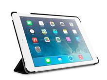 8 fold, multi-angle stand leather case for iPad mini4 cover