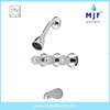 Dual Handle cUPC UPC Certifited Bath Tub and Shower Faucet (6101-0161)