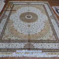 9x12ft persian handamde luxury floral silk oriental carpets london