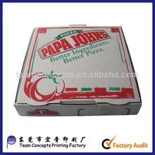 de papel caja de pizza fabricante de cajas de pizza para la venta