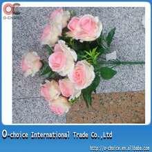 Hermosa flor de Rose de seda para la decoración