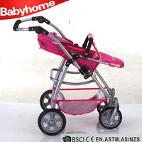chinese factory produce cheap price high quality blue dog stroller high quality doll strollers