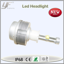 2015 new led headlight, high power led 9007 motorcycle double headlight