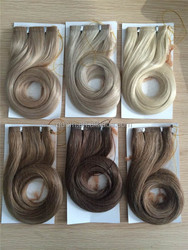 Hot Sale Fashion Natural Flip in Hair Extension in Stock