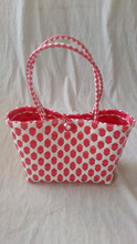 colorful plastic storage bag for girls
