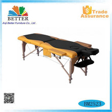 Better soild wood massage table,folding massage table for sale,massage bed headrest