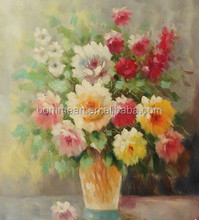 Impressionist Beautiful Flower Landscape' Hand-painted Oil Painting on Canvas Wall Art