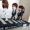 Cartoon version Beatles mini statue collectible anime resin figure